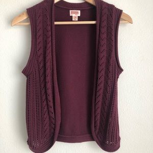 Mossimo Sweater Vest
